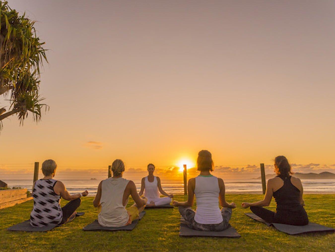 Travis Byron Bay Guide - Take Byron Bay Yoga Class