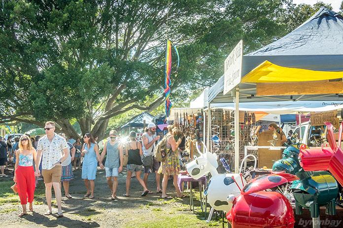Travis Byron Bay Guide - Go Shopping at Byron Bay Market