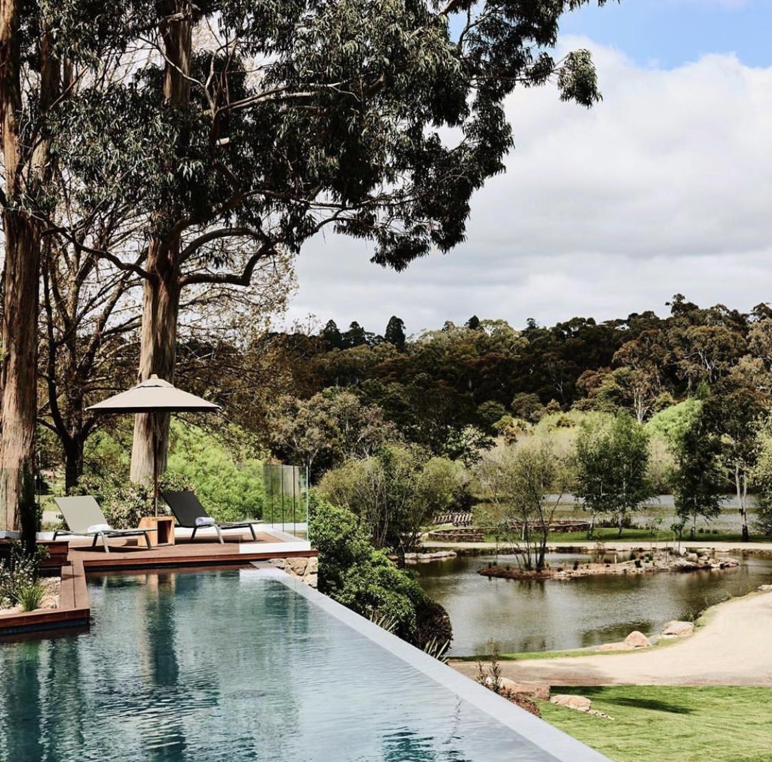 Lake House in Daylesford, Victoria, Australia