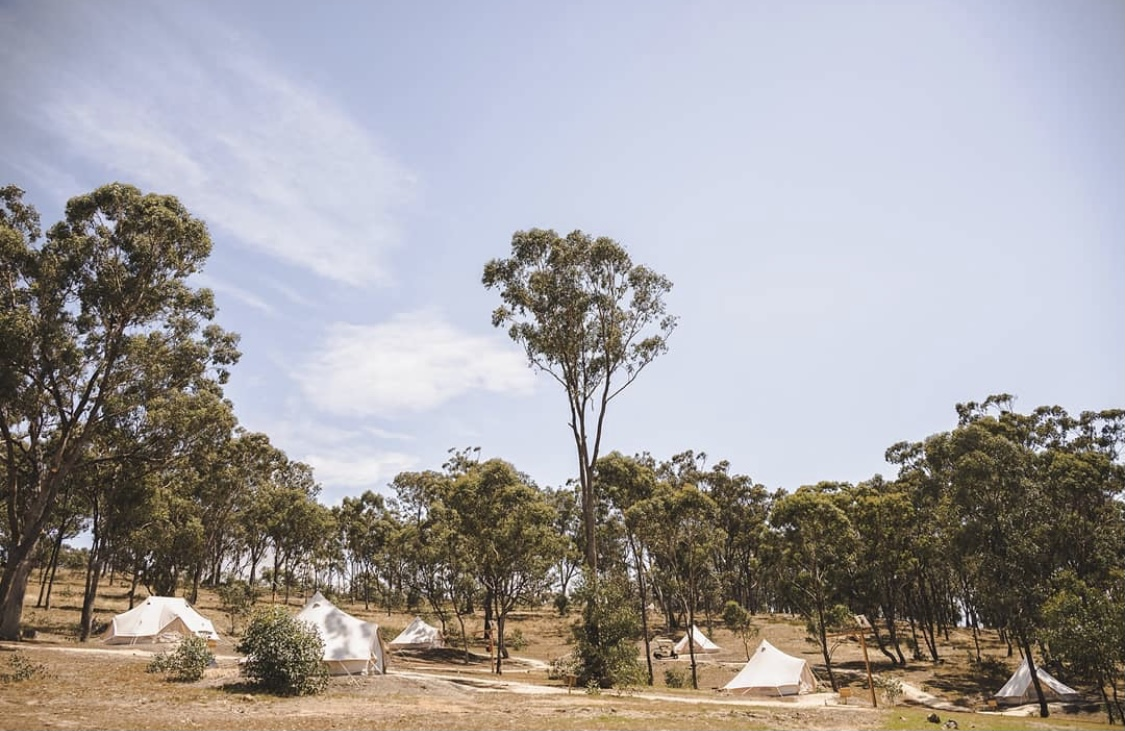 Glamping Cosy Tents Daylesford Victoria