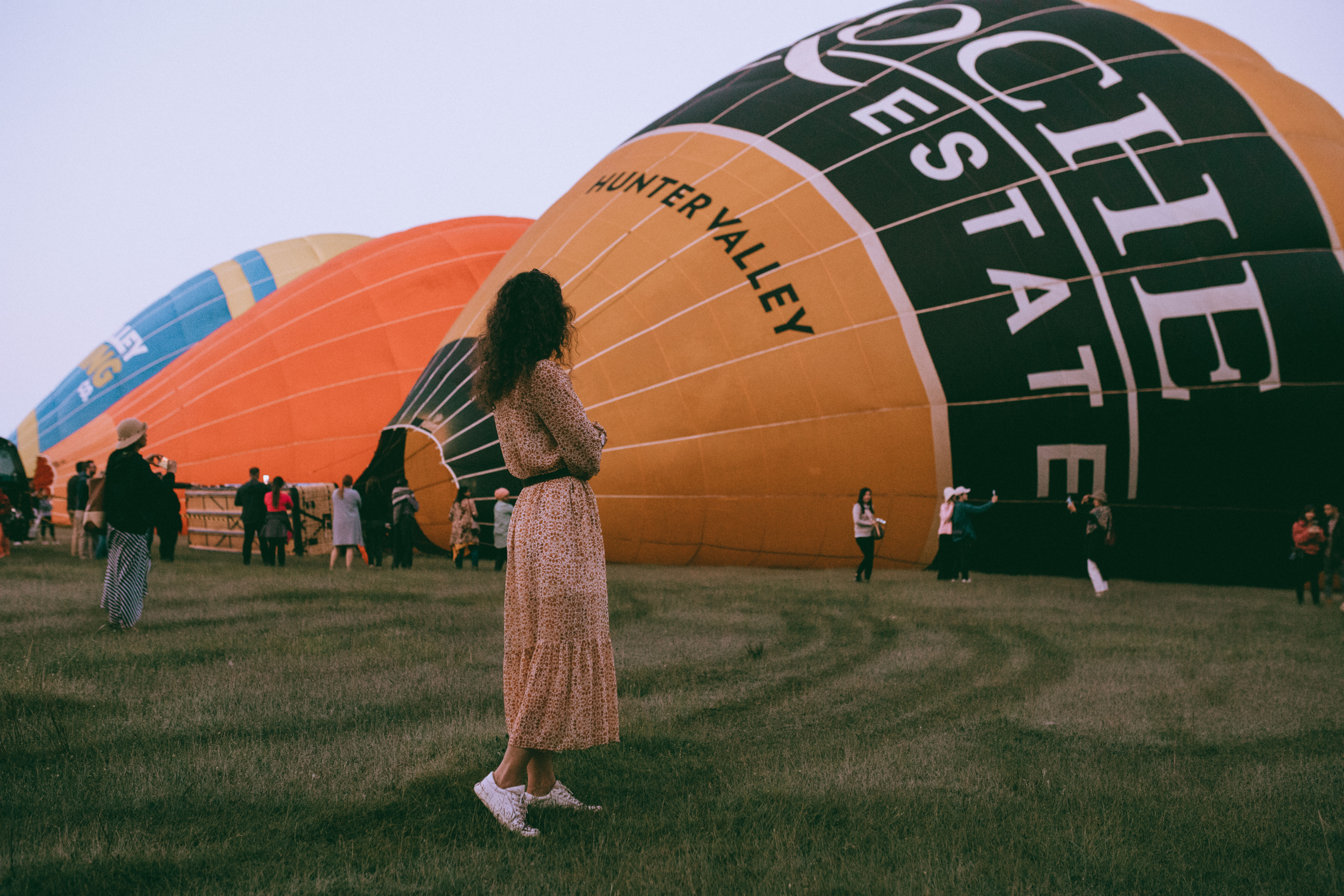 Hunter Valley NSW Hot Air Balloon Vaida Sav