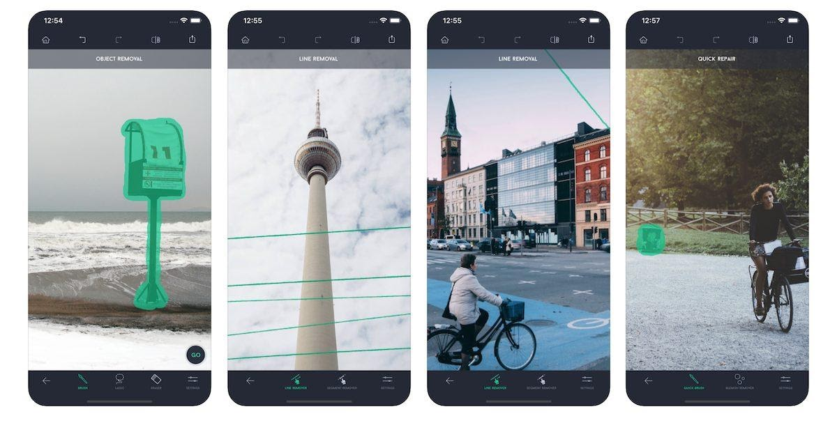 TouchRetouch - a photos editing app to erase unwanted objects on iOS and  Android
