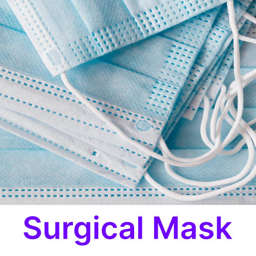 Photo of a surgical mask