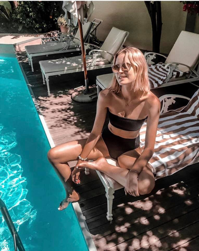 The pool at The Last Word Franschhoek - Magdalena Jozwowska