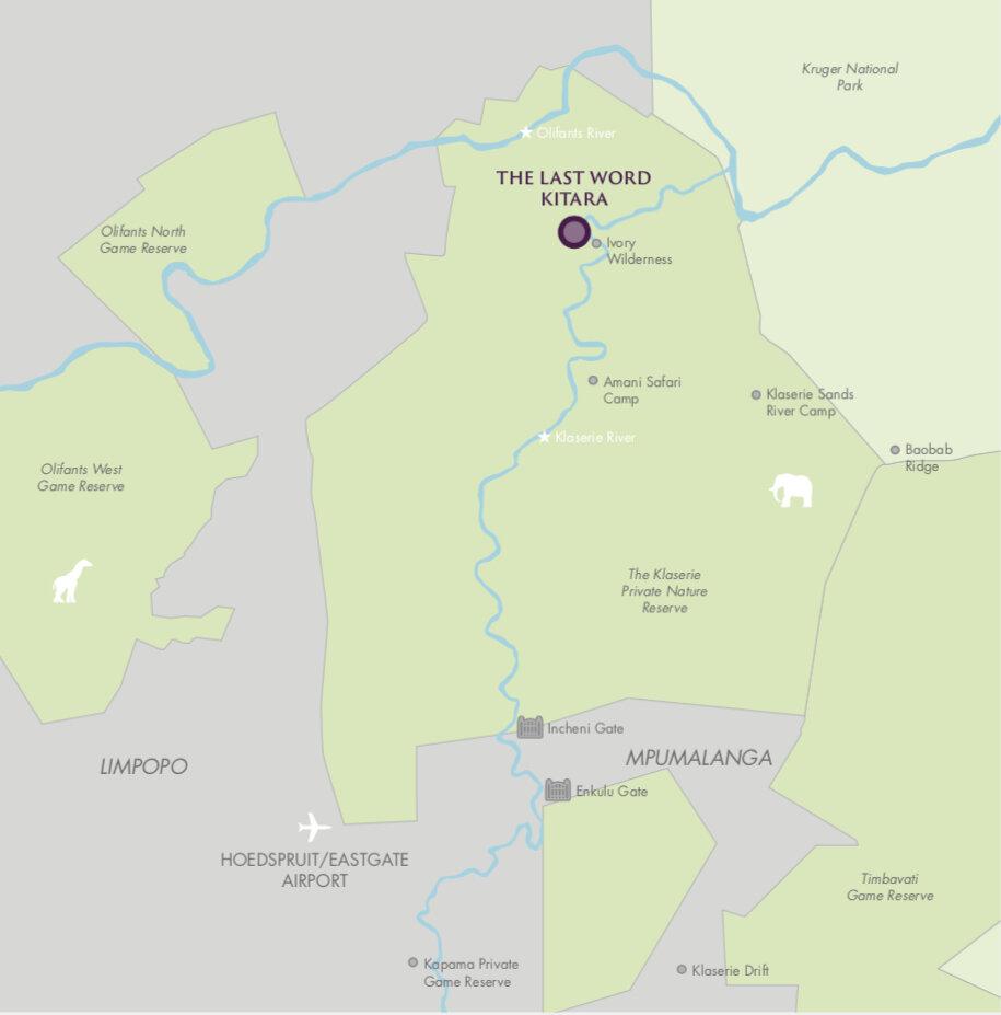 The Last Word Kitara Map