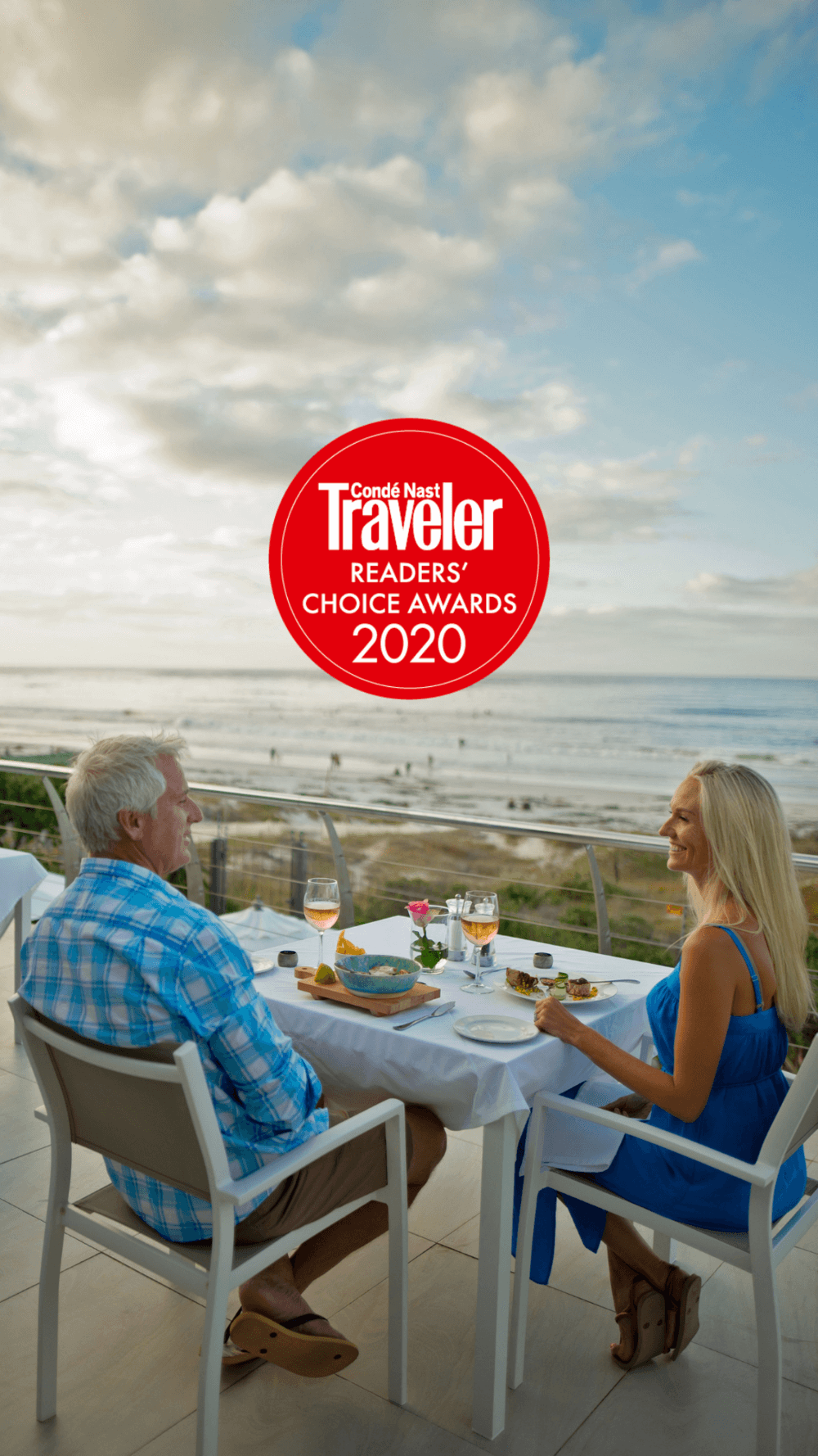 The Last Word Long Beach has been voted as the #2 top hotel in Cape Town by the discerning Condé Nast Traveler Readers' Choice Awards