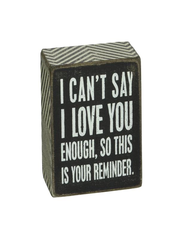 Love Reminder Box