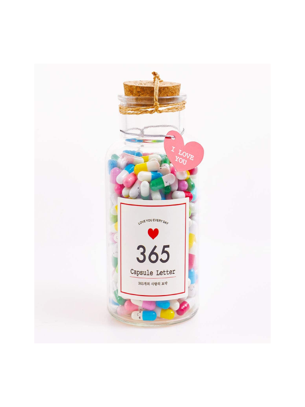 Gifts Message in a Bottle Capsule Letters