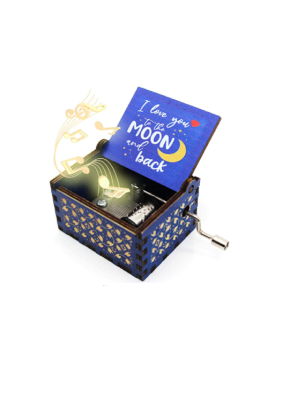 Love You To The Moon Music Box