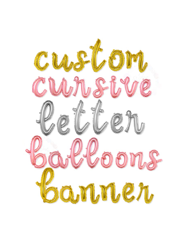 Custom Balloon Banner