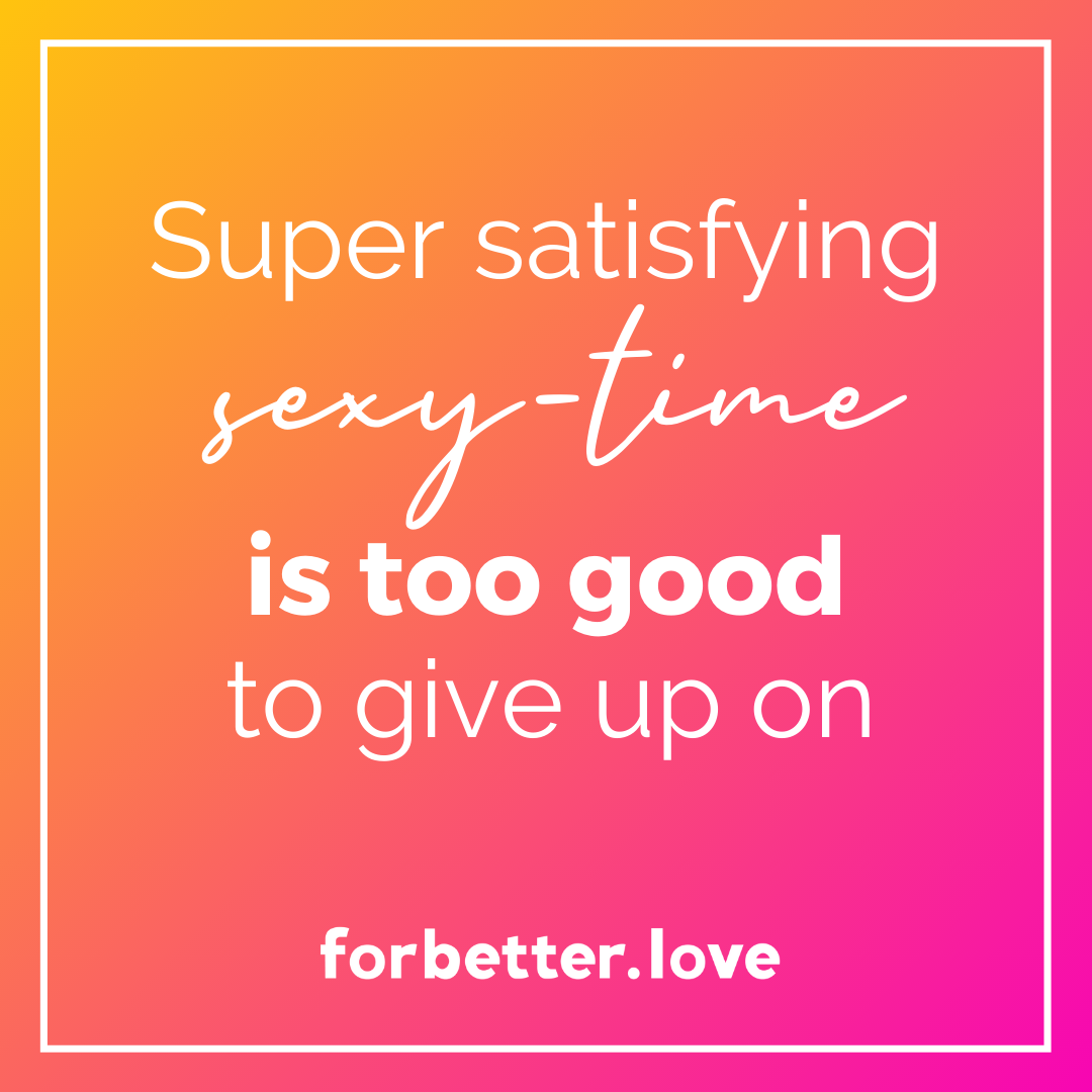 QMBFor BetterLove FBLSuper satisfying sexy time is too good to give up on Eight Sexy Ways toKeep It Juicy Between You Blog