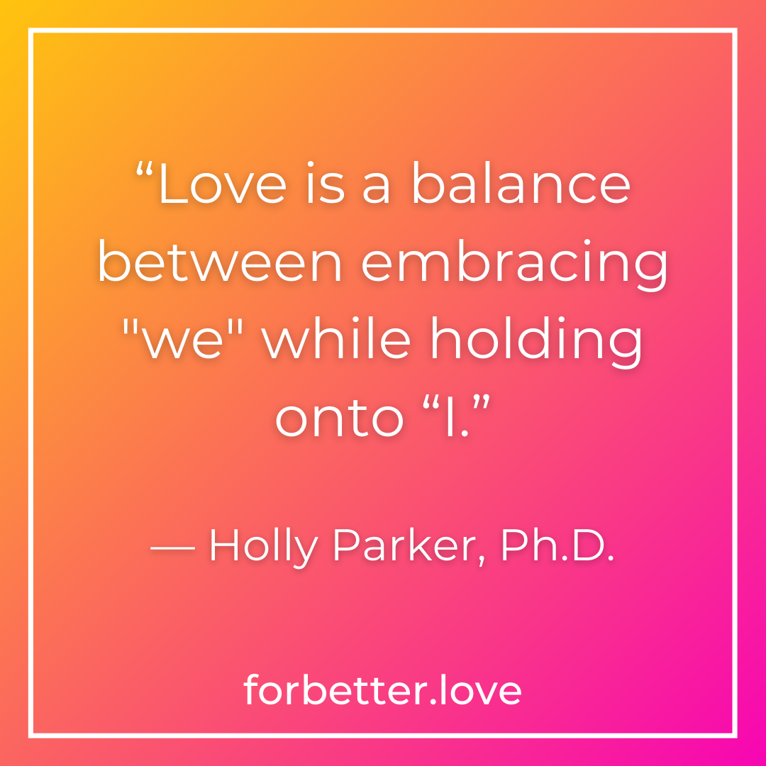 QMB FBL For Better Love It May Be Human But Is It Helpful How to Turn Your Relationship Differences into Delightful Synergy blog