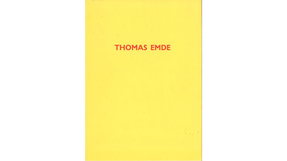Thomas Emde, Motivarbeiten und Objekte