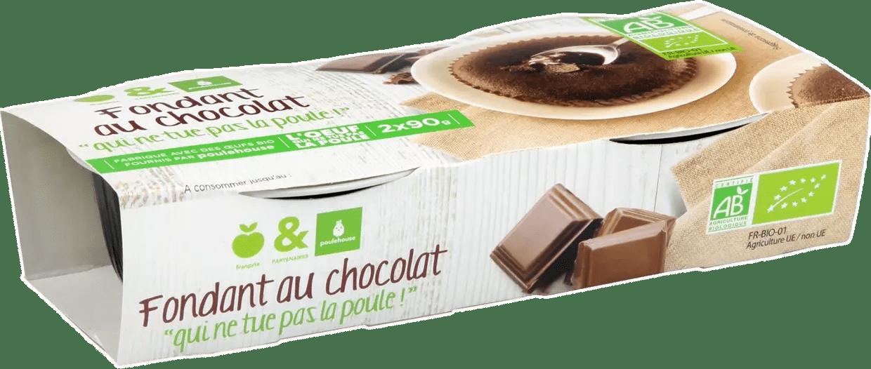 fondant au chocolat franprix poulehouse qui ne tue pas la poule