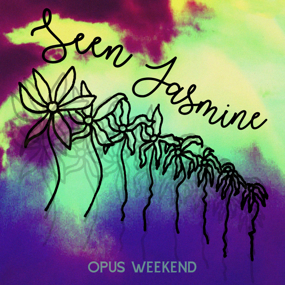 The album artwork for the song Seen Jasmine by OPUS Weekend