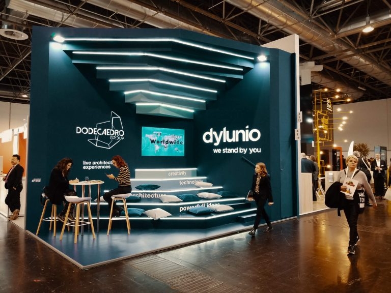 The Dylunio booth at EuroShop 2020