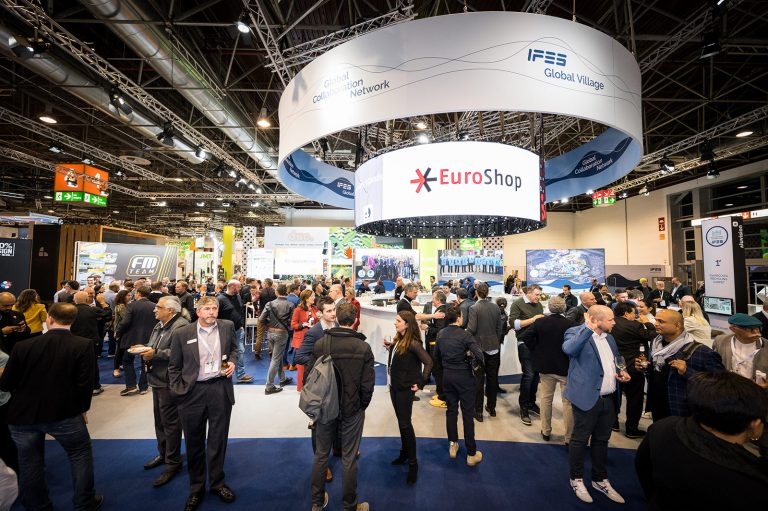 The IFES block party at EuroShop 2020