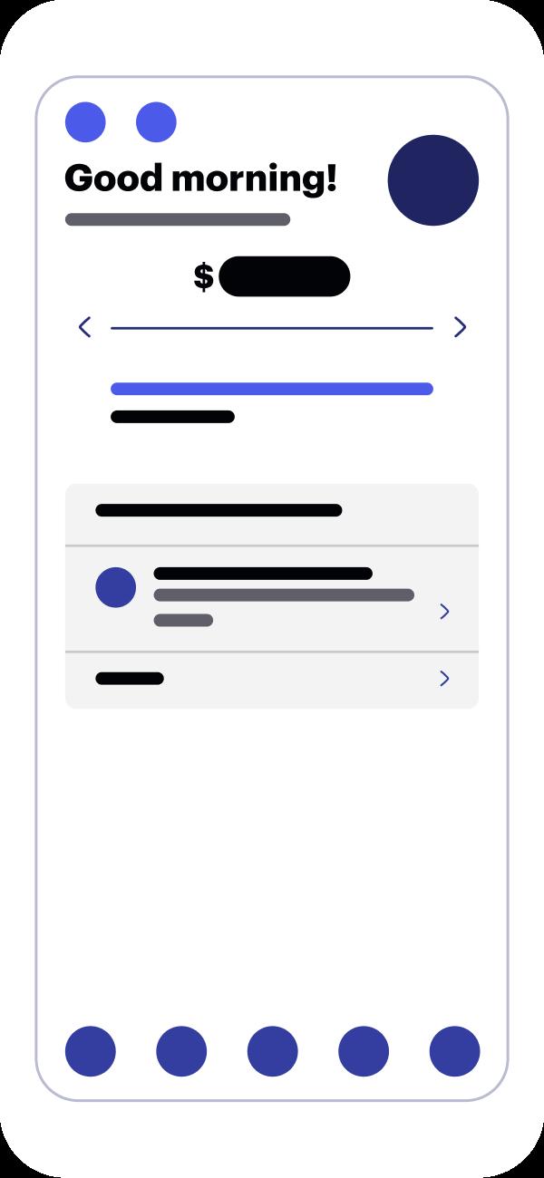 pre-tax mobile app dashboard