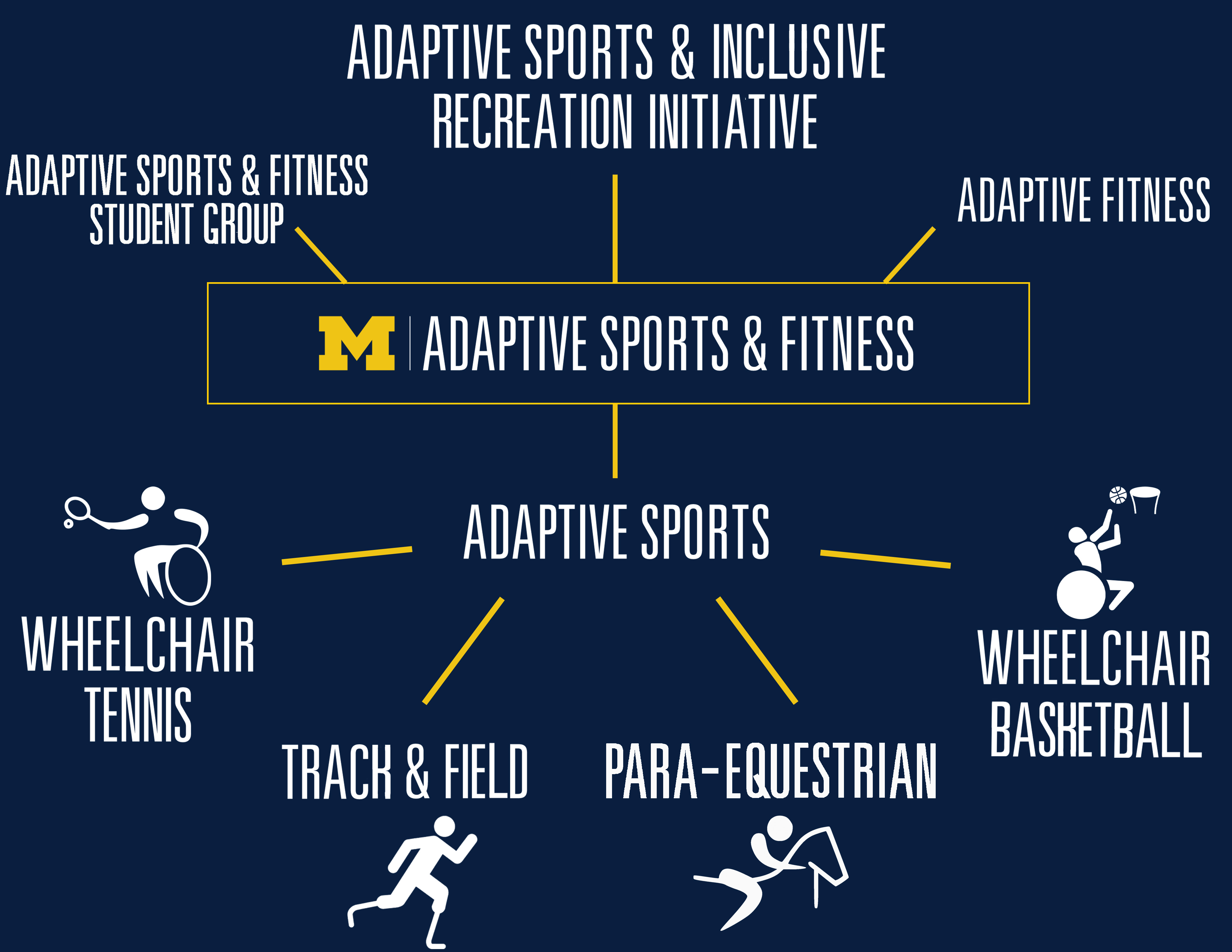 Infographic breaking down elements of program