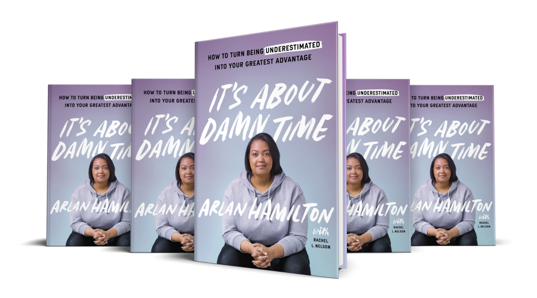 A picture of the cover of It's About Damn Time