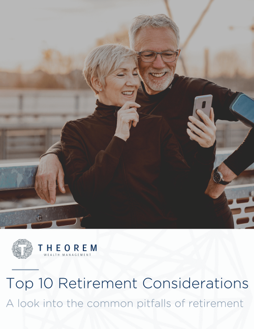 Top 10 Retirement Considerations Guide cover