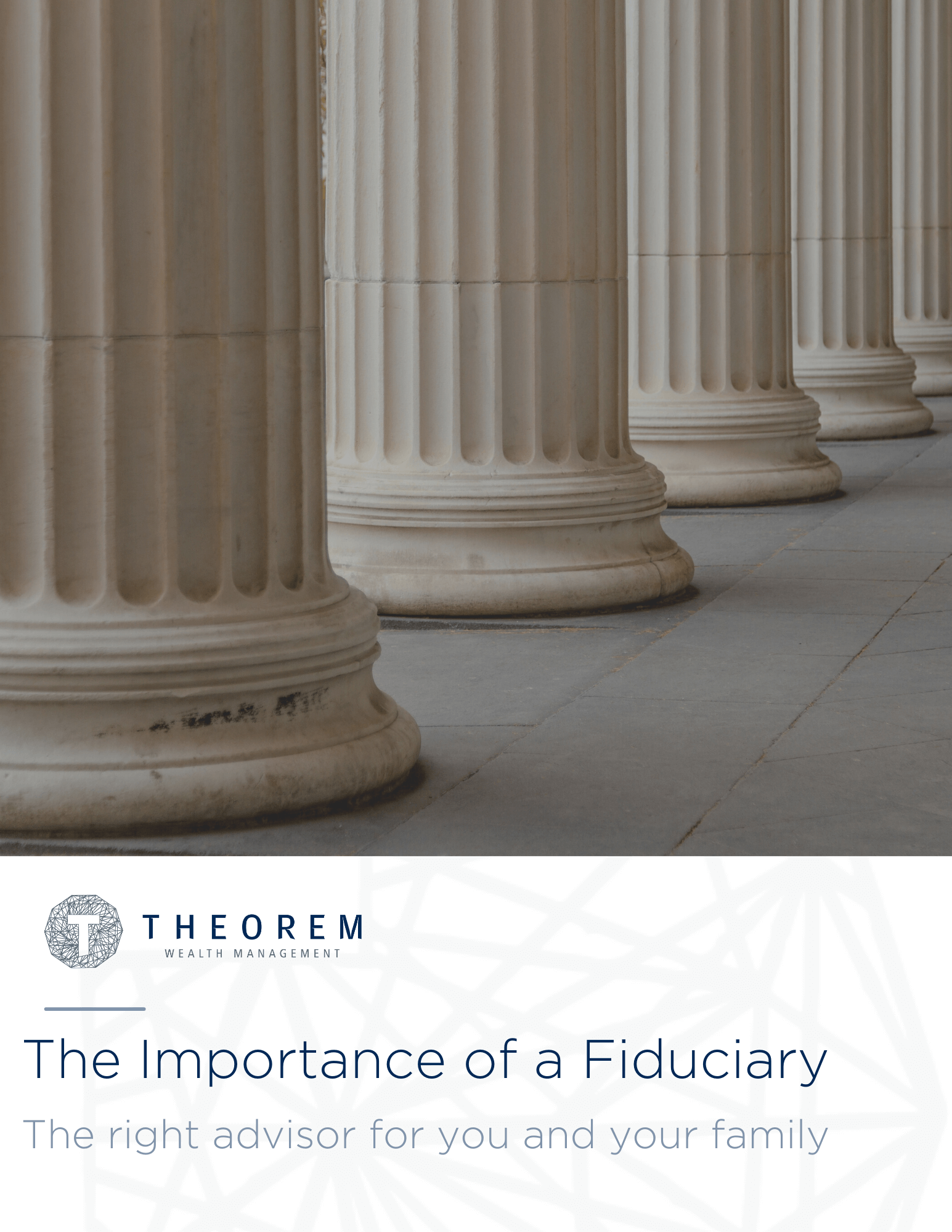 The Importance of a Fiduciary