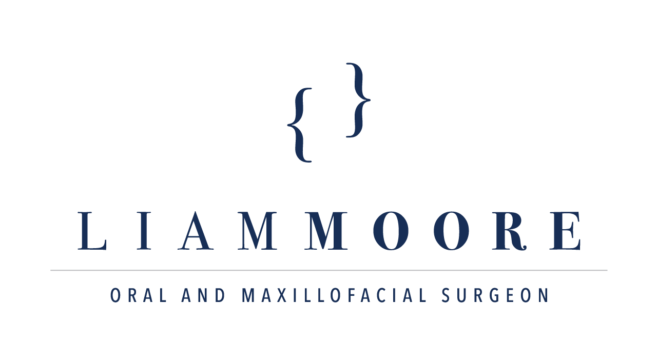Liam Moore Maxillofacial Surgeon primary branding