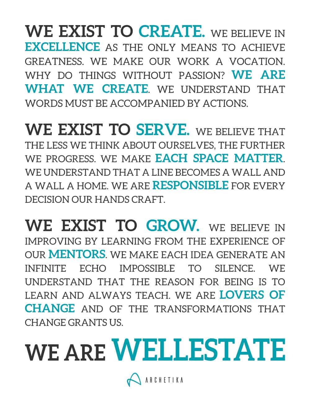 The Wellestate Manifesto: Building Wellness Real Estate Developments - Archetika