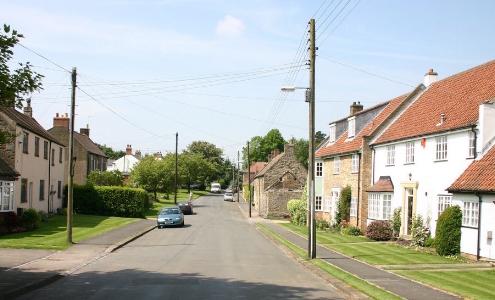 Croxdale main street