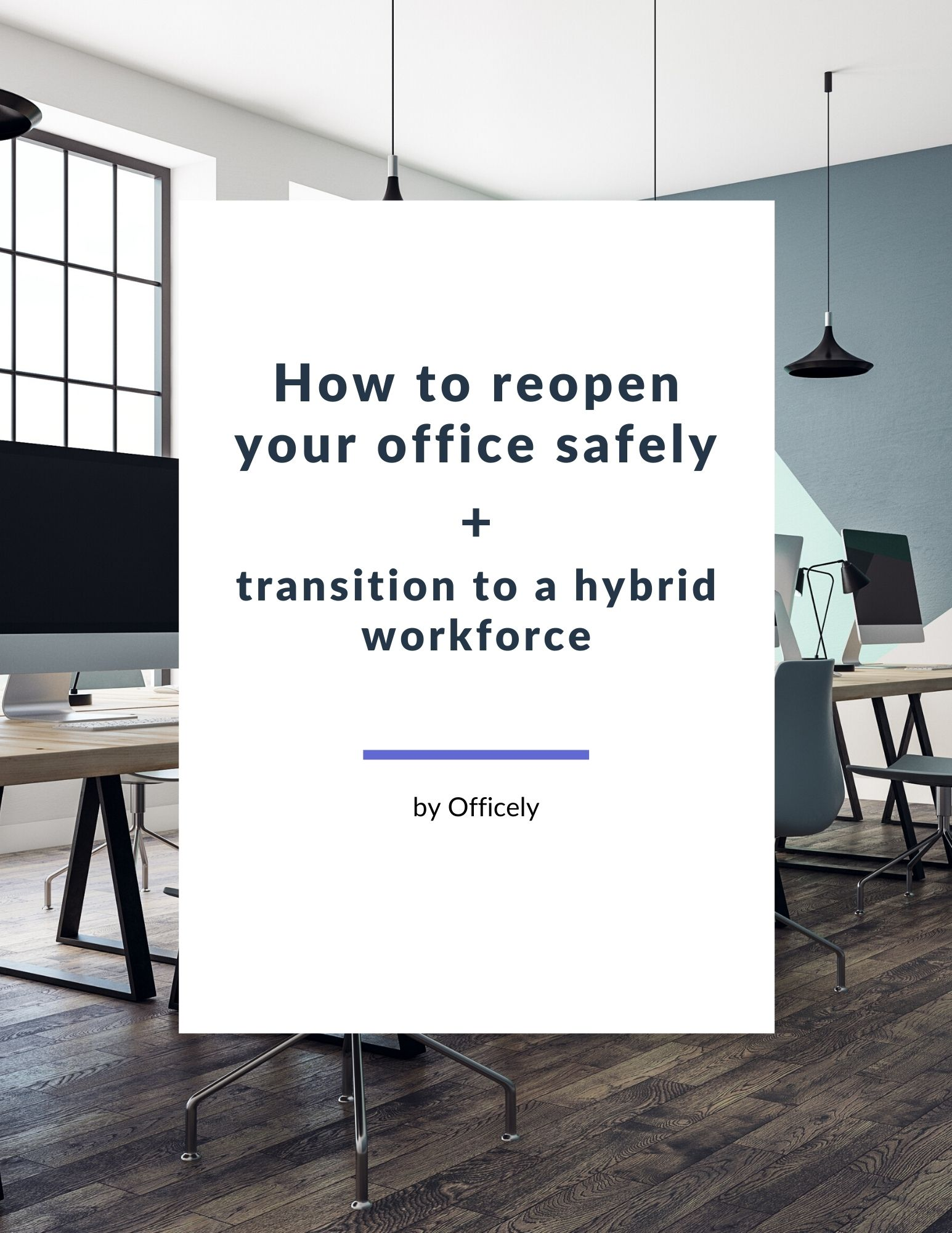 how to reopen your office