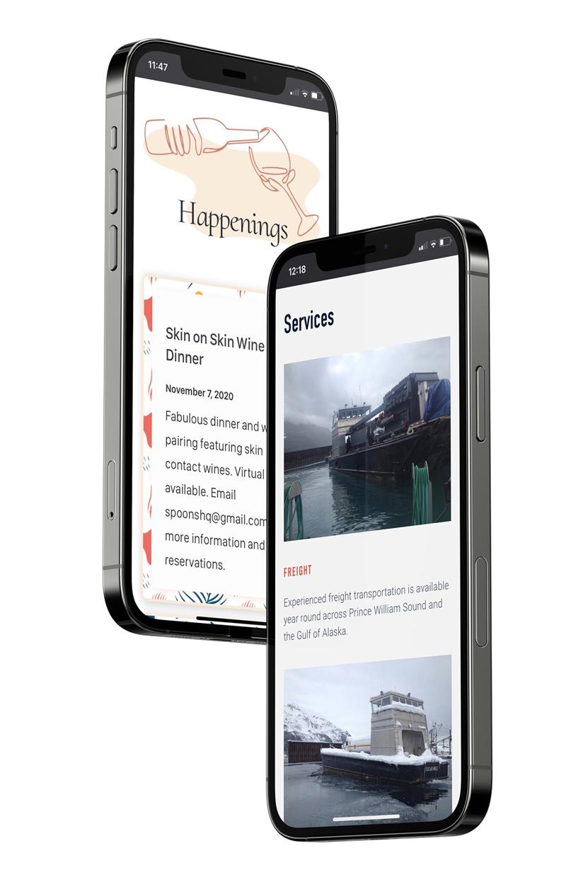 iphone responsive design image