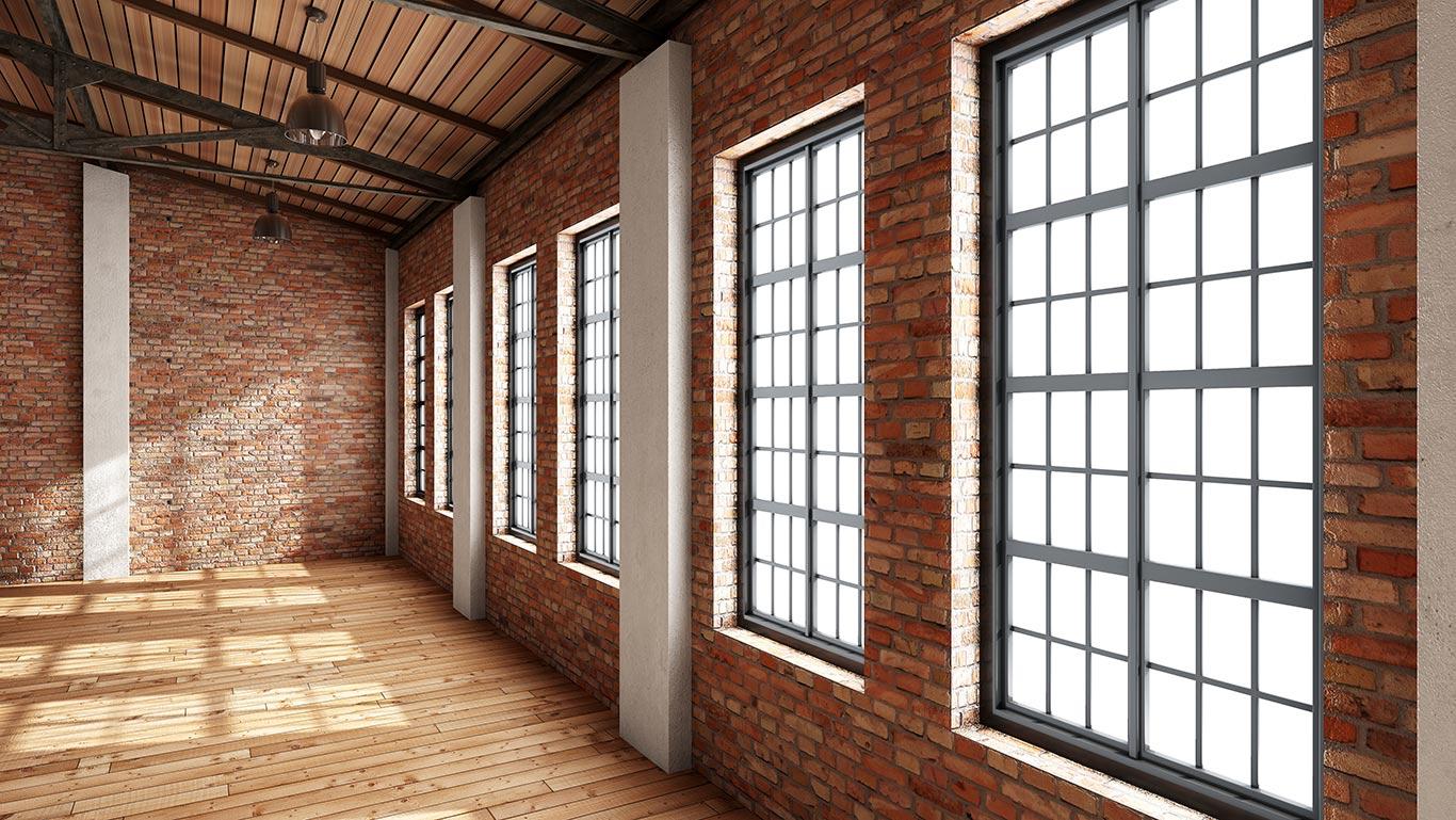 Loftowe okna i drzwi zewnętrzne