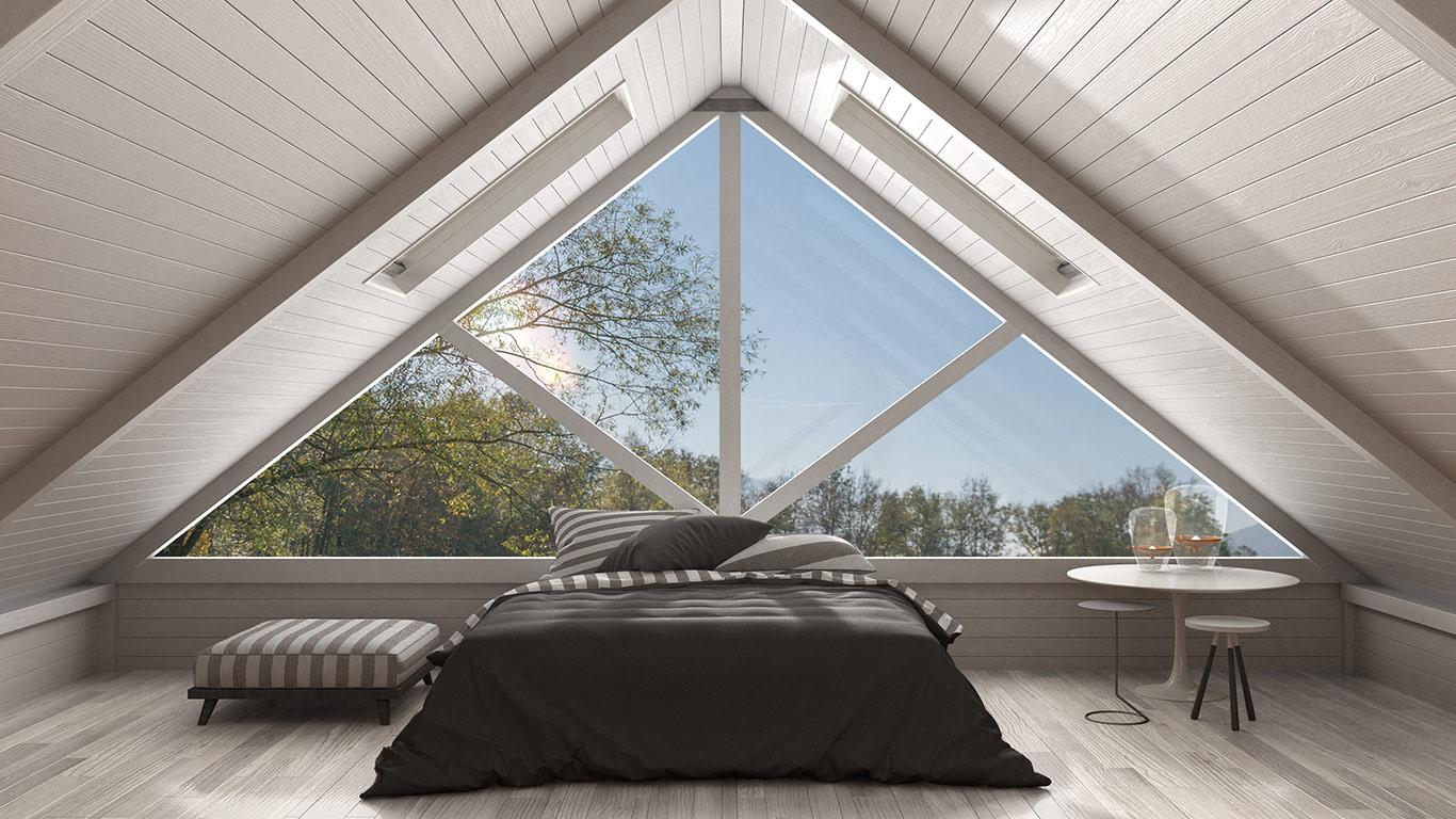 Duże okna - sposób na energooszczędny dom