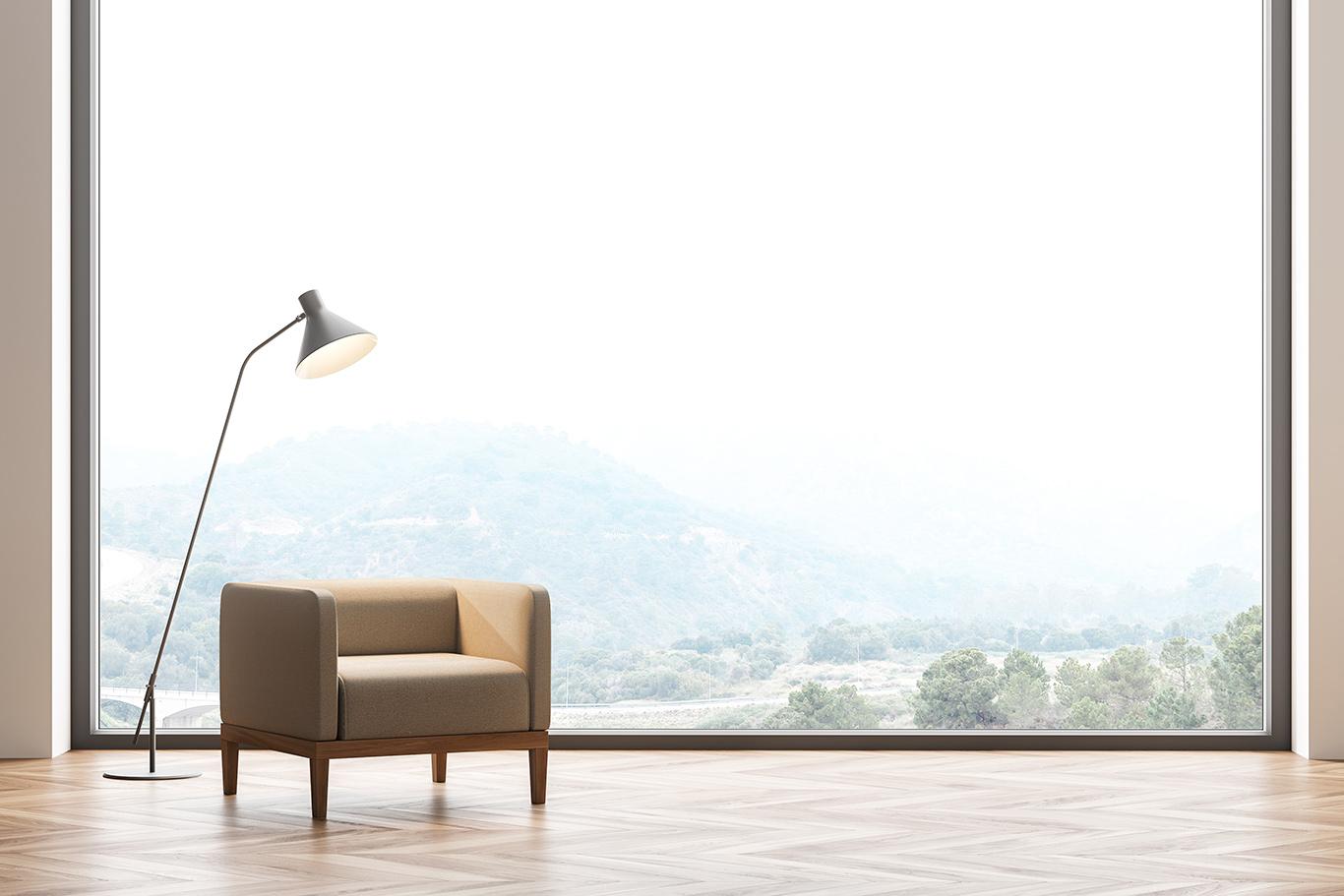 Luksusowy, nowoczesny wygląd pomieszczeń i wnętrza pełne naturalnego światła.