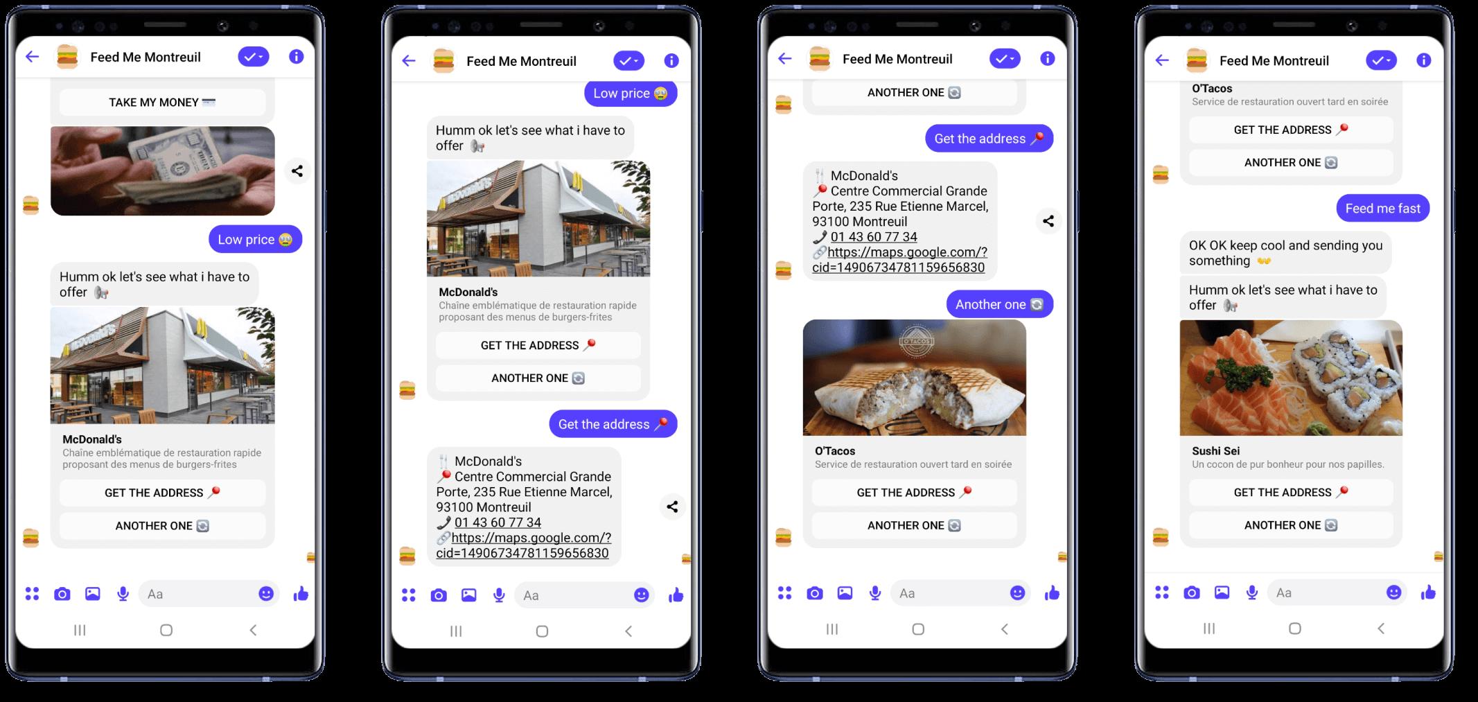 Feedme Chatbot