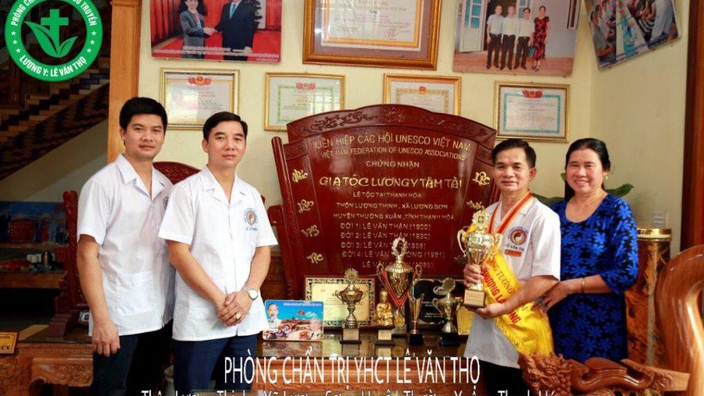 Phòng trị liệu y học cổ đại yền Lê Văn Thọ