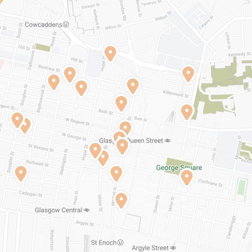 explore map of businesses