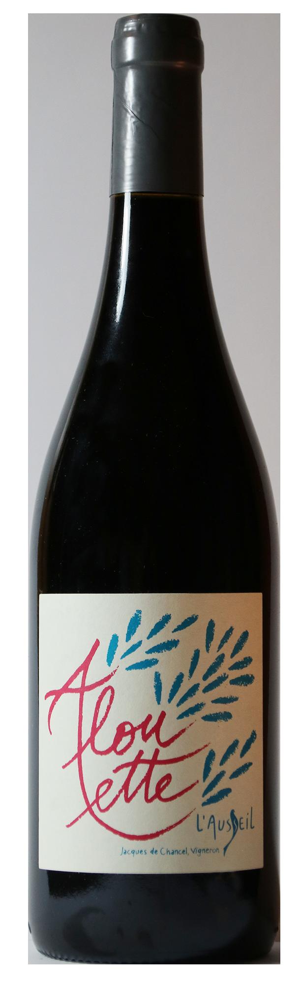 Bouteille de vin rouge naturel, cuvée Alouette 2018 Domaine de l'Ausseil