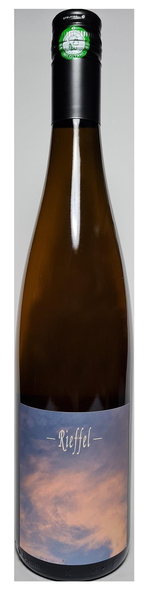 Bouteille de vin blanc naturel de macération, Lâcher Prise 2018 Domaine Rieffel