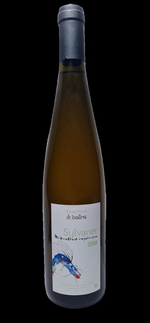 Bouteille de vin blanc d'Alsace, domaine A Boire