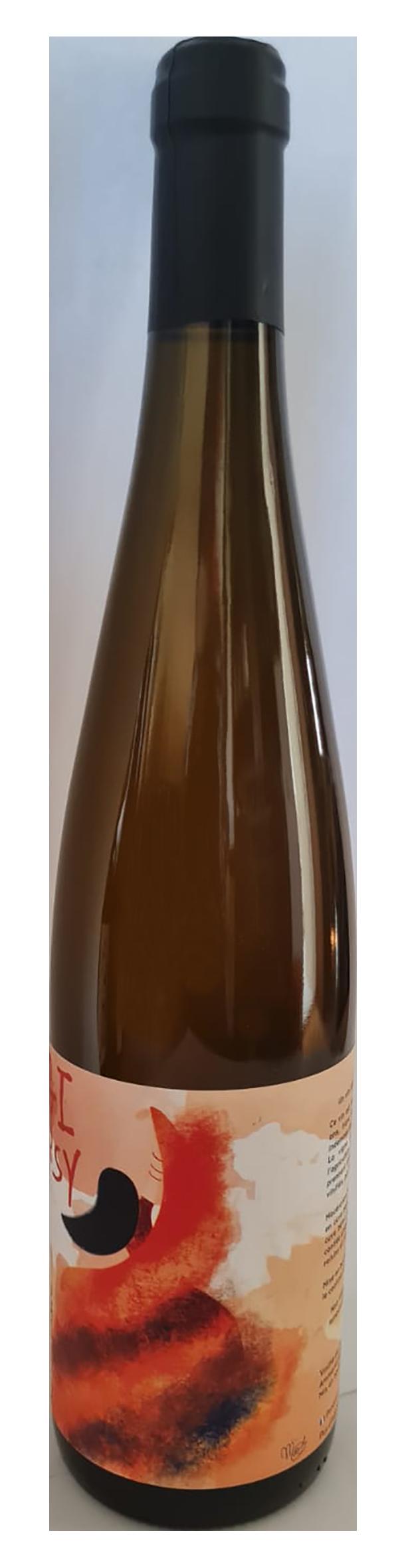 Vin blanc de macération courte issu de très vieilles vignes de Verdejo en Espagne, vinifié en Alsace par Sons of Wine, cuvée Gipsy resistencia 2019