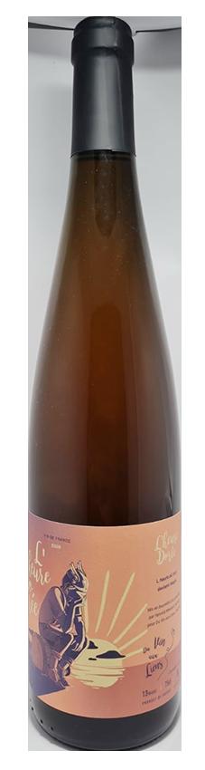 vin blanc de macération naturel d'Alsace, cuvée l'heure dorée 2019, produit par du vin aux liens