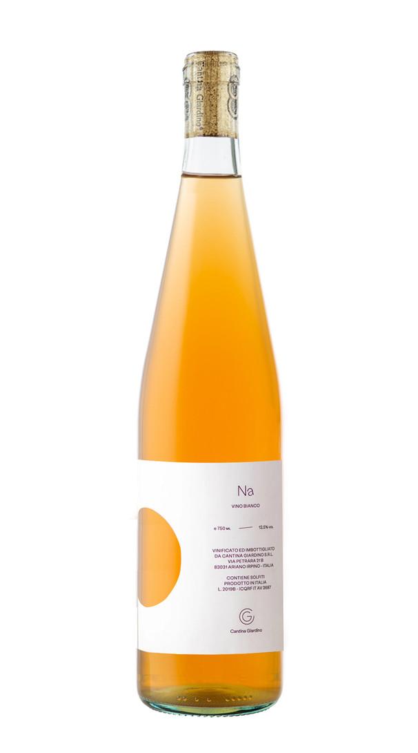 vin blanc de macération italien, cuvée Na 2019, domaine cantina giardino, italie