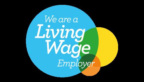 Indra - Living wage logo