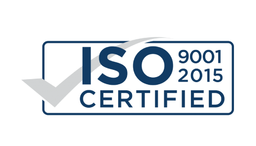 Indra - ISO 9001 2015 certified logo