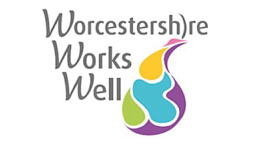Indra -Worcestershire Works Well logo