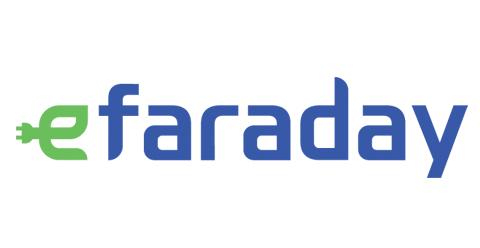 Indra - E - Faraday logo