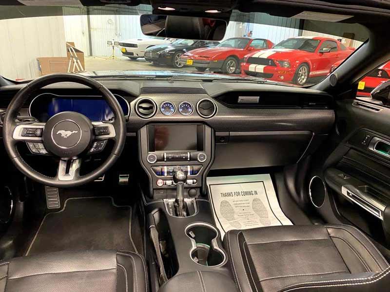 interior shine after detail