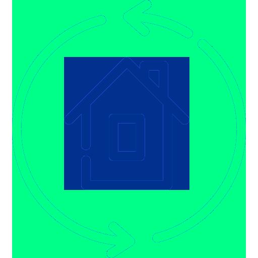 Icone logement en auto-consommation France Ecologie