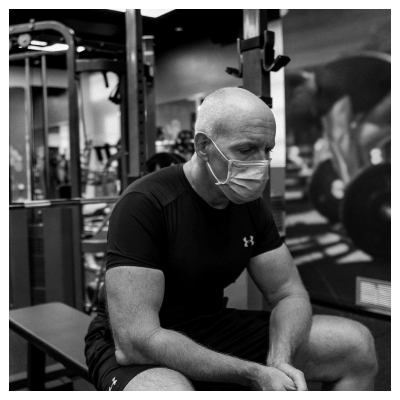 Rob resting in between sets at UTG Personal Training | Bergen County NJ